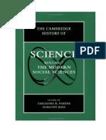Porter & Ross - Las modernas ciencias sociales.docx