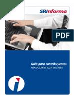 Guía Para Contribuyentes Formulario 102A