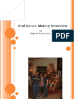 Oral History Interview