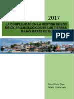 GESTION DE SITIOS ARQUEOLOGICOS en peten.pdf