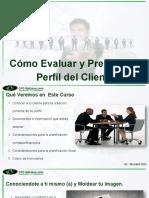 EVALUACION DE PERFIL DEL CLIENTE -