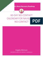 60 Day No Contact Calendar by Angela Atkinson