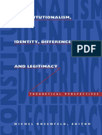 Michel Rosenfeld-Constitutionalism, Identity, Difference, and Legitimacy_ Theoretical Perspectives-Duke University Press (1994).pdf