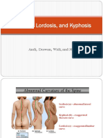 Scoliosis, Lordosis, And Kyphosis