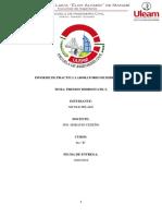 Informe de Practica Laboratorio de Hidraulica