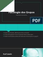 Lewin - Oficinas Dinamica Dos Grupos