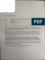 NRA Retirement Plan Update April 2019