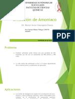Oxidación de Amoniaco