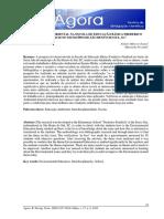 A EDUCAÇÃO AMBIENTAL NA ESCOLA DE EDUCAÇÃO BÁSICA FREDERICO FENDRICH NO MUNICÍPIO DE SÃO BENTO DO SUL, SC.1