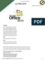 Trucos y Crack Para Office 2010