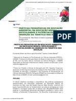 [Artigo] - Práticas Pedagógicas Em Educação Ambiental Na Educação Básica_ Dificuldades e Potencialidades Da Inserção Da Temática Nas Escolas