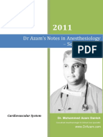 Dr AZAM'S Notes in Anesthesiology CARDIOVASCULAR_SYSTEM.pdf