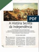 A historia secreta da independencia