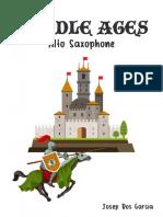 MIDDLE AGES Alto Saxophone Modalitat B
