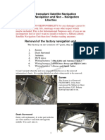 Factory SATNAV Tutorial 7.10.12