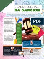 El Tribunal de Cuentas a Pura Sancion