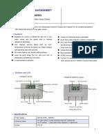 F2000ps thermostat datasheet