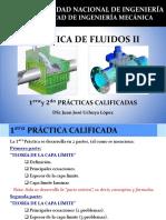 Mecánica de Fluidos II - 1 y 2 Prácticas Calificadas