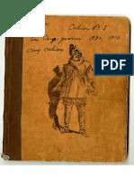 Carnets de Guerre d'Alexandre P - 1ere Guerre Mondiale