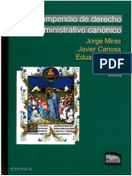 Jorge Miras, Javier Caosa y Eduardo Baura - Compendio de Derecho Administrativo Canónico.pdf