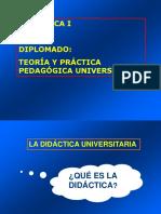 La Didactica y Fund Teoricos