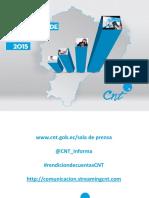 Rendicion de Cuentas 2015 CNT EP 3mar2016