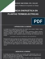 Clases 1 Fuentes de Energía Renovable y No Renovable Generación Termoeléctrica