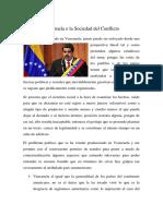 Venezuela o La Sociedad Del Conflicto