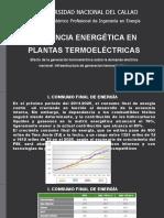 efecto de la generacion  termoelectricas sobre la demanda electrica nacional