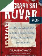 Dejan Novačić Emigrantski Kuvar DEO Mono i Manjana