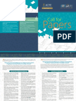 Brosur Call for Papers 2019
