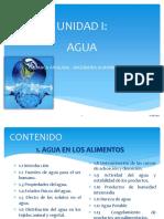 UNIDAD I - AGUA (2)