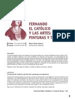 Fernando El Catolico y Las Artes Pintura1