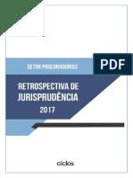 RETROSPECTIVA DE JURIS 2017 . SETOR PROCURADORIAS E AGU.pdf