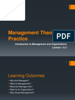 Lecture 1 Introduction to Management