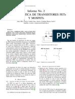Informe No. 2 Caracter Istica de Transis