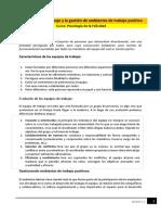 Lectura M12 - Equipos de Trabajo y La Gestión de Ambientes de Trabajo Positivo