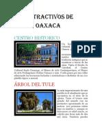 Atractivos de Oaxaca
