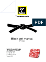 black belt manual
