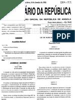 Lei Nº 306 Lei Das Associações de Defesa Do Ambiente