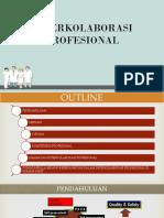 Peran Fungsi Ka. Bid Dalam Interkolaborasi Profesional