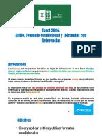 03 Excel 2013 - Estilos y Formato Condicional