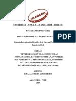 Informe Taller III - Final de Pavimentos Rigidos