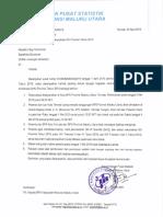 Undangan Rekonsiliasi IKK Provinsi 2019