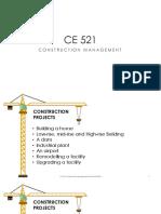CE 521 Module 1 Background