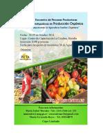 Afiche-Vi Encuentro Agric Orgánica