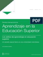 (Pp. 1-11) Les13_43620_Los Estilos de Aprendizaje en La ES