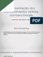 Apresentação dos conhecimentos obtidos nos benchmarks.pptx