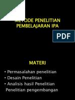 Metode Penelitian Pembelajaran Ipa [Recovered]