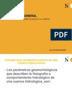 4. Parametros Geomorfologicos (1ra Parte) 2017-1 (1)